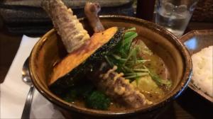 北海道野菜がたっぷりで美味しい札幌のスープカレー店を教えてください
