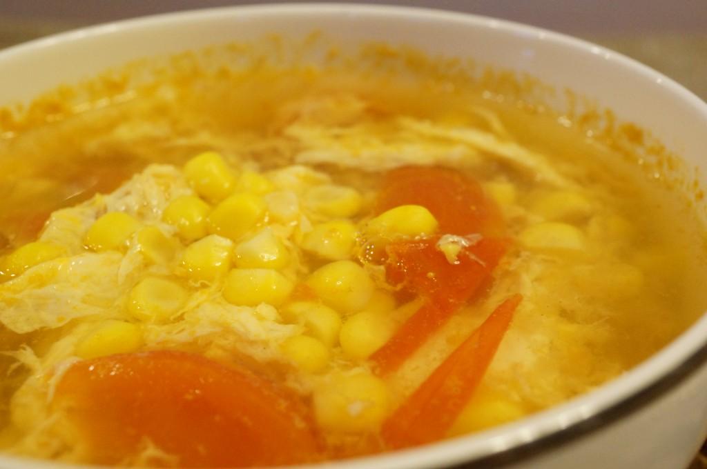 シャッキリコーンスープのレシピ