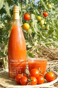イナゾーファームさんの有機JAS認定フルーツトマトジュース