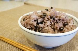 北海道黒千石大豆の豆ご飯の作り方