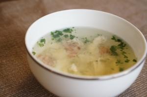 ホワイトアスパラの茹で汁スープのレシピ